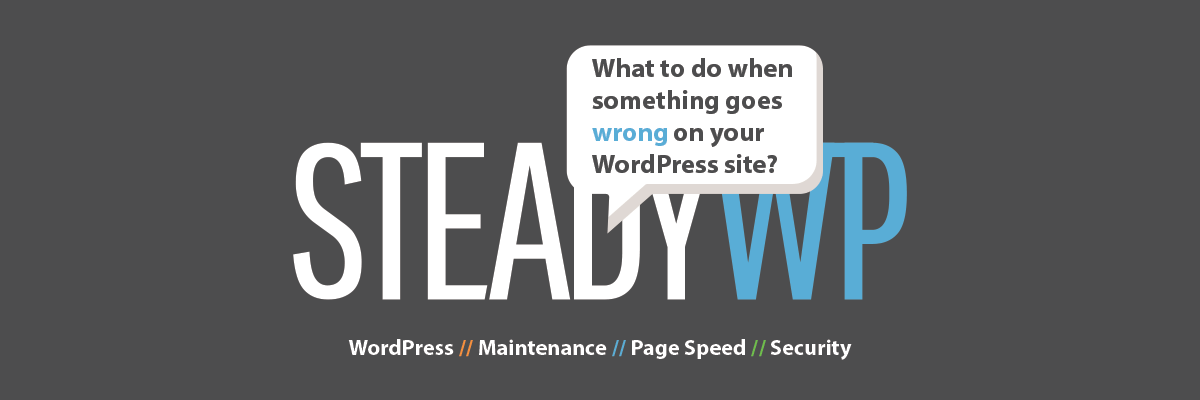 What to do when something goes wrong on your WordPress site