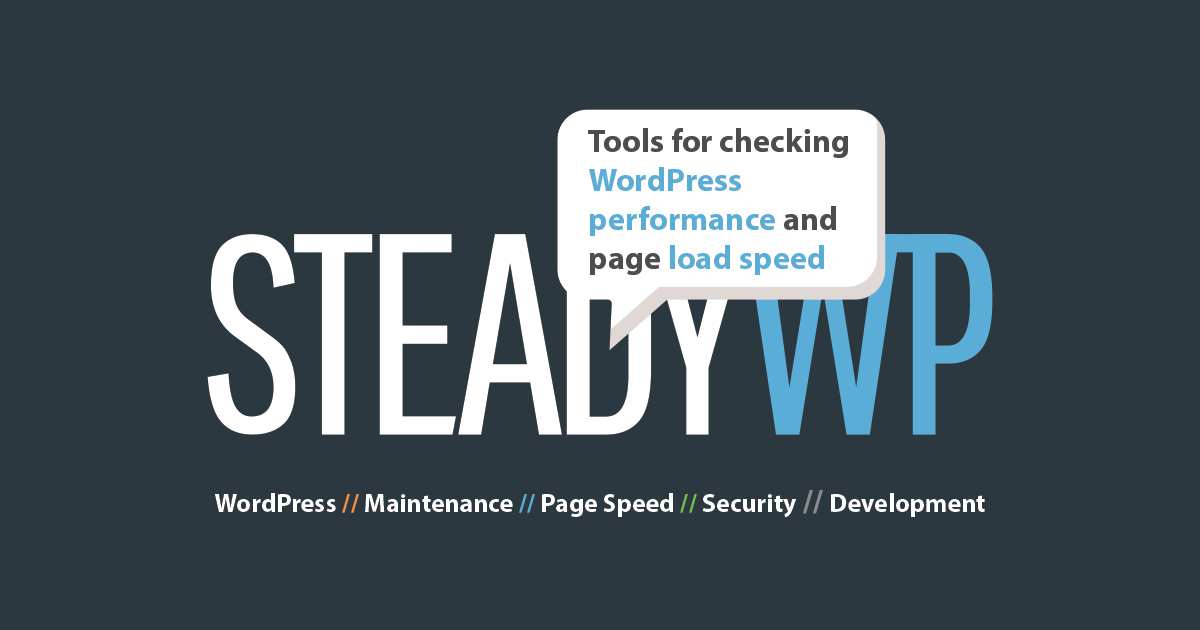 Tools for checking WordPress performance and page load speed